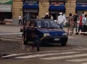 foto presa da facebook alluvione di Genova 11 ottobre 2014
